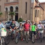 Partenza biciclettata da Eraclea