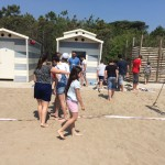 fine sfida beach volley Femmine battono maschi in rimonta